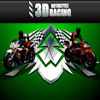 3d Motorcycle race